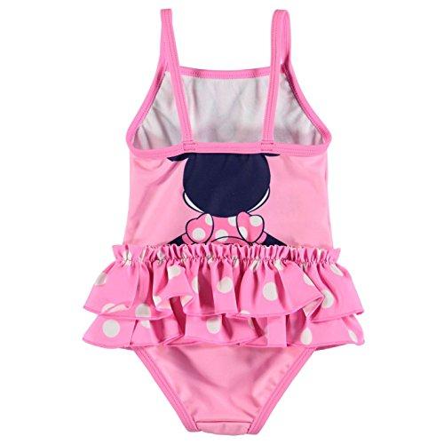 Character, costume da bagno da bambina Disney Minnie 0-3 Mesi