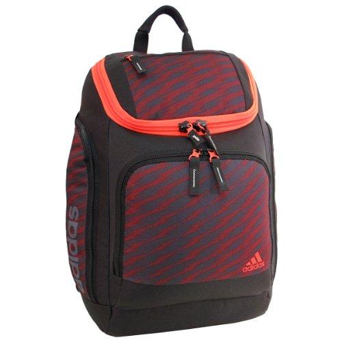 adidas Energy Backpack, Shockwave/Night Grey/Scarlet/Solar Red, 19 3/4 x 13 x 9 1/2-Inch