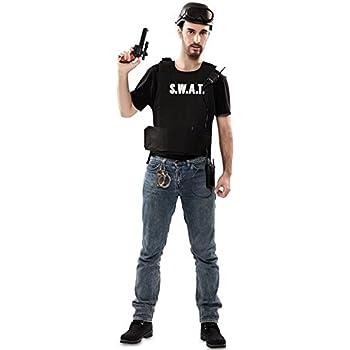 Disfraz de Agente S.W.A.T. para hombre: Amazon.es: Juguetes y juegos