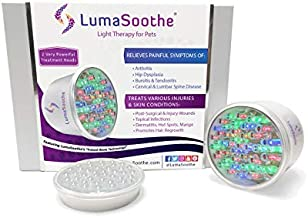 LumaSoothe Light Therapy for Pets - LED Light Therapy Treatment as Arthritis Relief for Dogs, Joint Pain Treatment, Muscle Pain Treatment - Reduce Inflammation, Heal Wounds, Clear Skin Infections