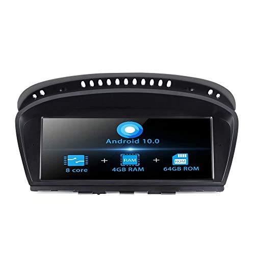 TOPNAVI 8.8 Pulgadas de navegación del Coche para BMW E60 E61 M5 E63 E64 M6 E90 E91 E92 E93 M3 2001 2002 2003 2004 Original con AUX Stereo WiFi 3G