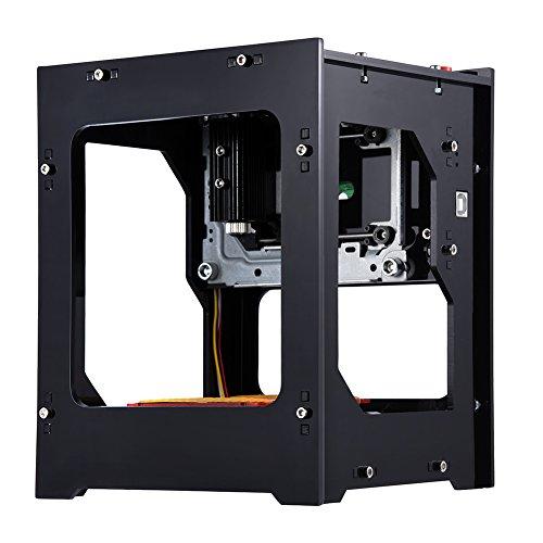 Lasergraveermachine, Bluetooth, 1500 mW, brander, automatische printer, met veiligheidsbril