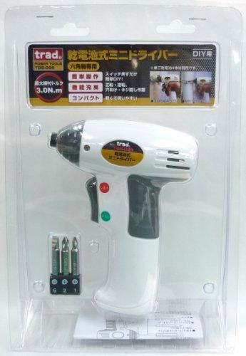 trad 乾電池式ミニドライバー TDB-098