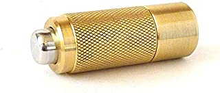 CIGAR PUNCH - BRASS AND ALUMINUM - HAND MACHINED - MADE IN THE USA