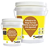Weberfix Drywall 5 kg | Epoxy adhesive for tiles and stones | Fixing tile-on-tile, large stones, stone-on-plywood applications