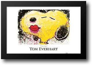 Dog Lips 40x28 Framed Art Print by Everhart, Tom