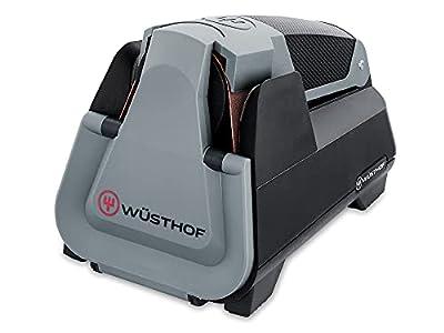 Wüsthof Easy Edge (3069730301) Afilador eléctrico para todos los cuchillos, Afilador automático de cuchillos con sistema de afilado inteligente