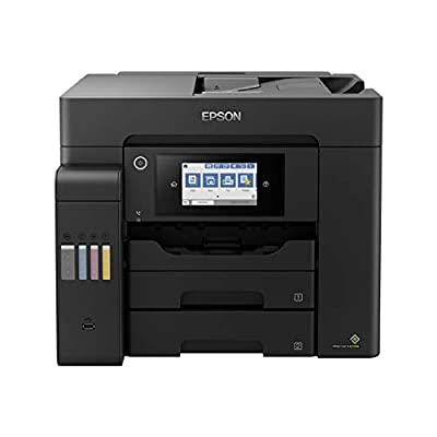 Epson EcoTank ET-5800 A4 Print/Scan/Copy/Fax High Performance Business Printer, Black