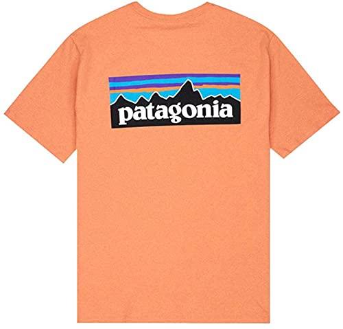 Patagonia Kurzärmliges Trikot für Herren. Gr. M, COHO Coral