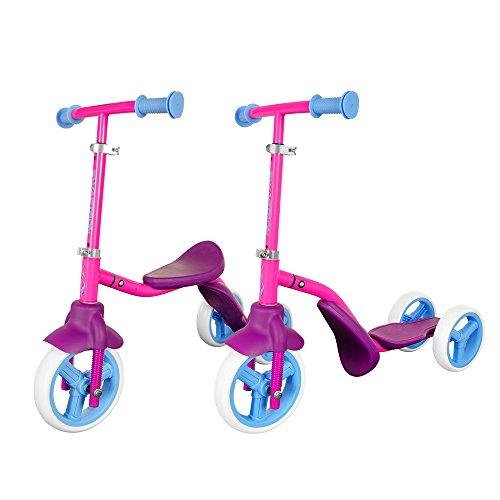 Swagtron K2 Kids 3 Wheel 2 in 1 Balance Bike