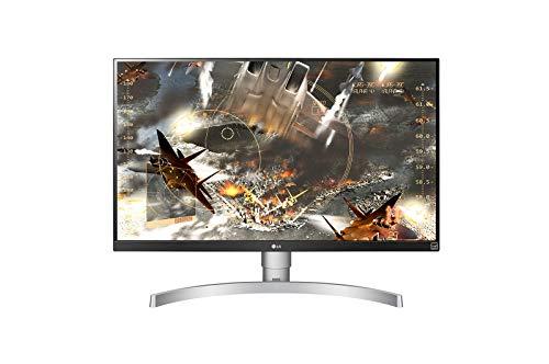 LG UHD 27UL650 - Monitor de 27 pulgadas IPS LED 4K con pantalla VESA HDR 400, blanco