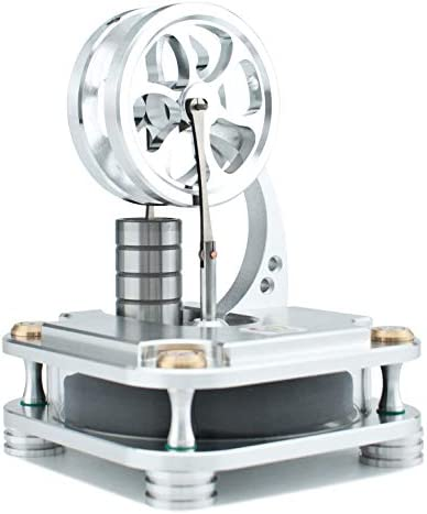 DjuiinoStar Stirling Engine Solid Metal Construction CNC Machined an Interesting Working Model product image