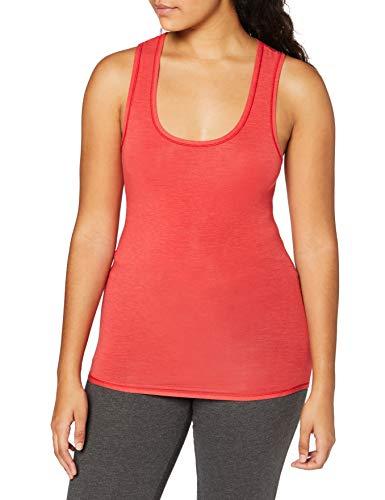 Schiesser Damen Personal Fit Tank Top Unterhemd, Rot, XXL