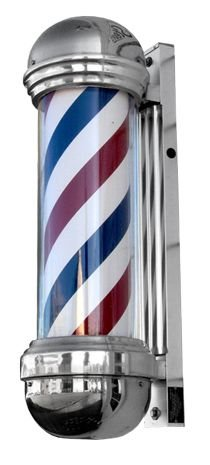 Best Bargain Classic Barber Pole with Light - Professional Quality