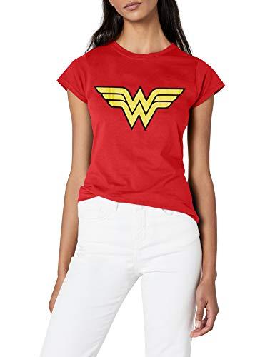 DC Comics Wonder Woman Logo T-shirt - 8 to 16