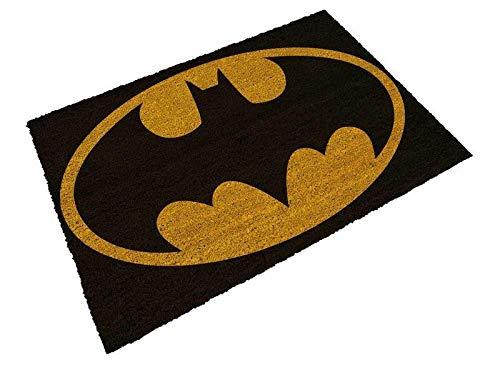 SD toys Felpudo Batman Logo Doormat DC Comics Official Merchandising Referencia DD Textiles del hogar Unisex Adulto, Multicolor (Multicolor), única