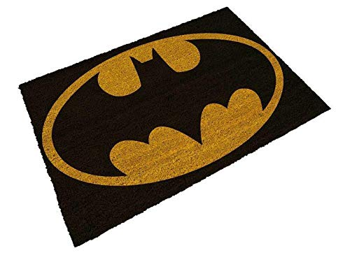 SD toys Felpudo Batman Logo Doormat DC Comics Official Merchandising Referencia DD Textiles del hogar Unisex Adulto, Multicolor (Multicolor), única