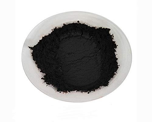 Poudre de mica cosmétique - Savon - Additif pour nail art - Cire de soja - Résine (50 g, perle noire)