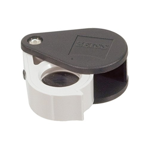 Zeiss Jewelers Professional Aplanatic Achromatic Pocket Loupe 40D-10x
