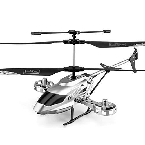 Weaston Modelo de avión Grande Avión Inteligente de Altura Fija Helicóptero RC Aleación Resistente a caídas Avión RC Principiante Avión RC al Aire Libre 7-12 años Juguete para niños Regalo