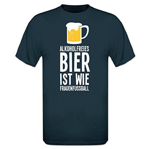 Shirtcity Alkoholfreies Bier ist wie Frauenfußball T-Shirt by