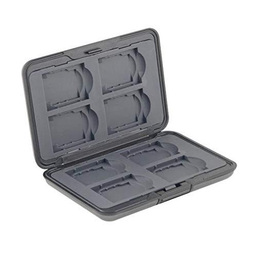 Slinger Digital Storage Aluminum Case for Eight SD/MMC Secure Digital Cards