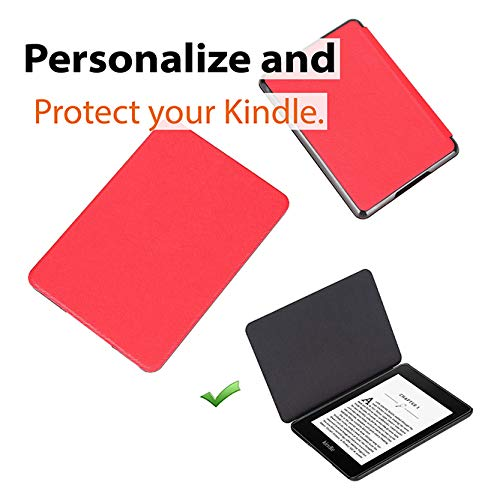 Paperwhite e-Reader Protective Case, Durable Case Cover for The Paperwhite 10th Generation e-Book Reader, Red
