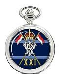 21st Lancers (stampa dell'India), British Army Full Hunter Orologio da tasca
