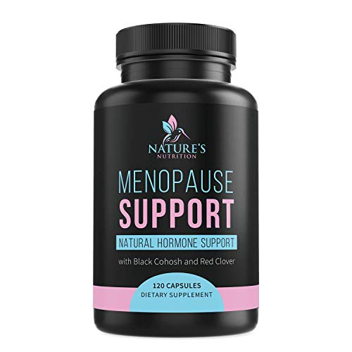 Menopause Supplements Extra Strength Hot Flash Support 1256 mg - Menopause Support for Women - Made in USA - Natural Pills w/Black Cohosh, Dong Quai & Soy Isoflavones - 120 Capsules