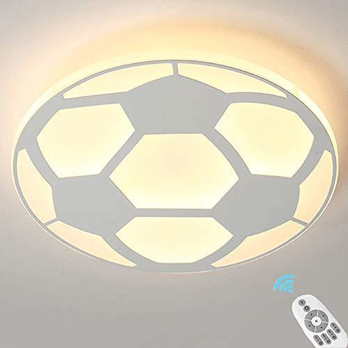 Lámpara De Techo LED Para Niños Con Atenuación Infinita Redonda, Lámpara De Techo Utilizada En Sala De Estar, Comedor, Sala De Estudio, Lámpara De Techo Blanca De 42 * 4,5 Cm. 32 W, 2560 Lm