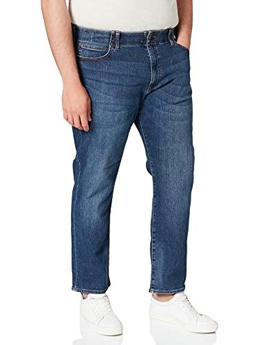 Lee Extreme Motion Straight Jeans, Blu (Maddox Pu), 36W / 32L Uomo