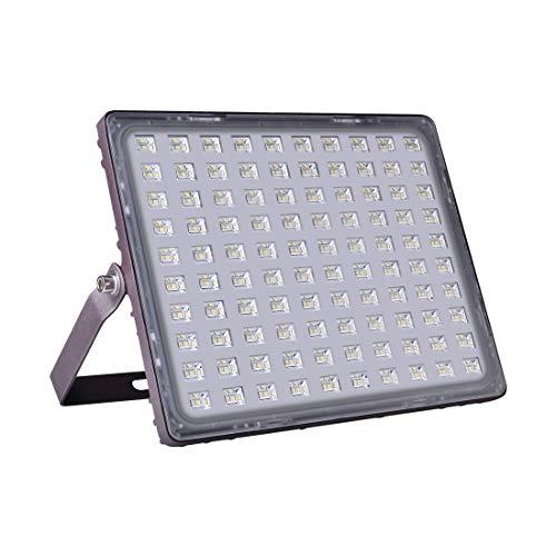 Viugreum 150W LED Eclairage Projecteurs, IP67 Imperméable [ Mat Matériel Texture ], 15000 LM Haute Luminosité Blanc Froid, Rousse Carapace, LED lampe pour Jardin, Terrasse, Square, Cour ect.