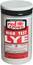 Red Crown High Test Lye for Making Award-Winning Handcrafted Soaps 2 lb. (1, Non-Food Grade)