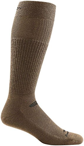 Darn Tough Tactical Mid Calf Light Cushion Sock - Coyote Brown Large