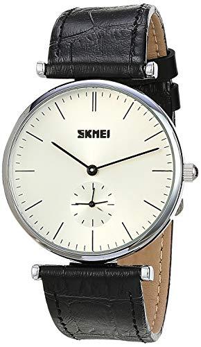 Relógio Feminino Skmei Analógico 1175 - Preto e Prata