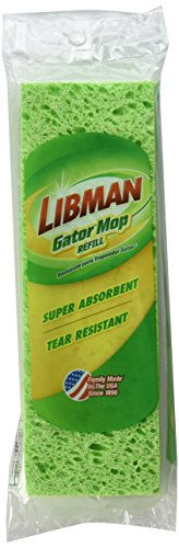 Libman 3021 Gator Mop Refill, 9