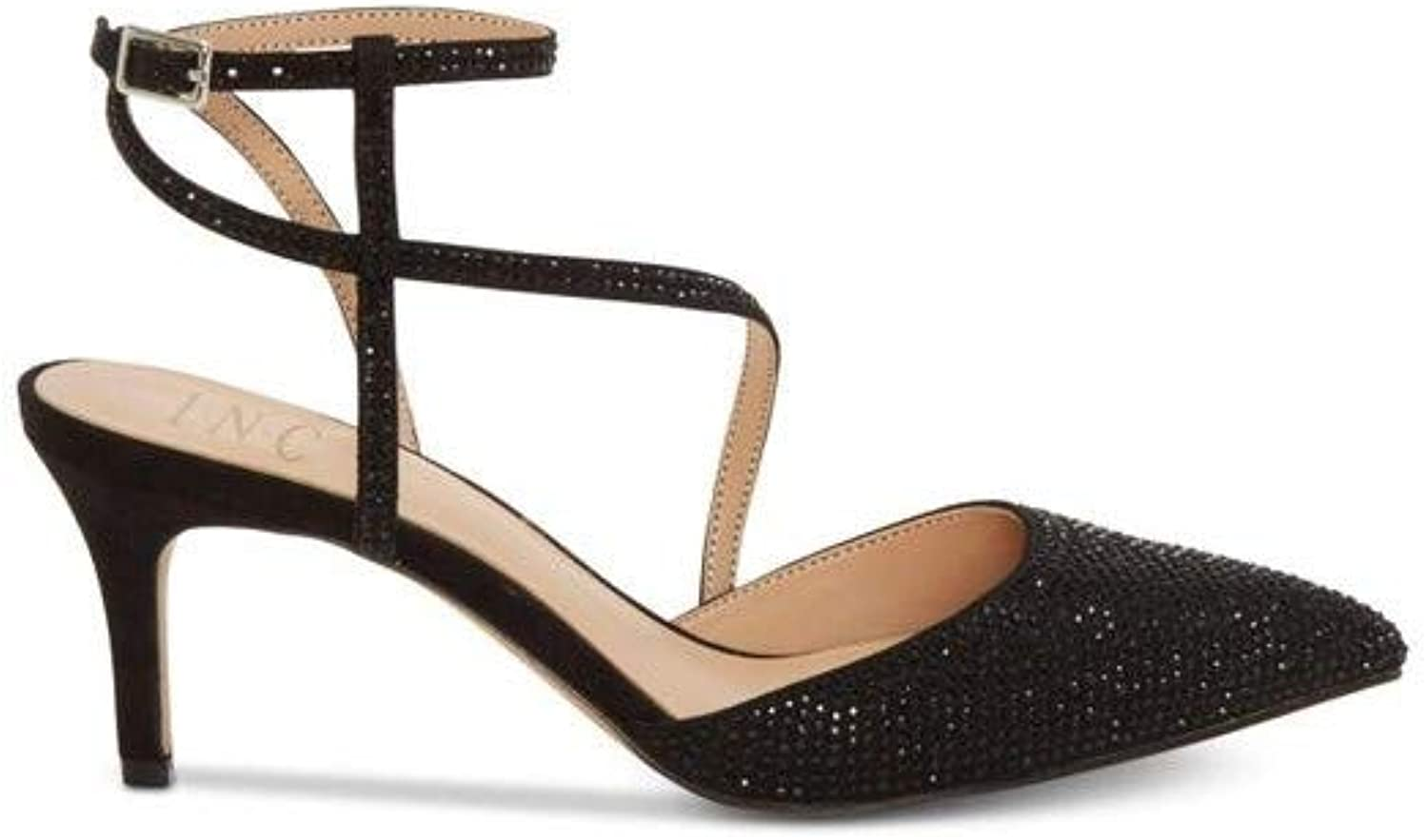 INC International Concepts Womens Lenii Pointed Toe Formal Ankle Strap Sandals