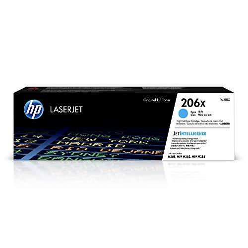 HP 206X | W2111X | Toner Cartridge | Cyan | High Yield