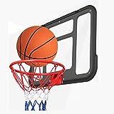 MHCYKJ Canasta Baloncesto Interior Casa De para Niños Colgar sobre Puertas Mini Sistema Aro Balonce STO Juego Infantil con Pelotas Oficina