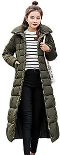 Women Winter Duck Down Coat Hoodie Thicken Coat Solid Big Fur Collar Outerwear