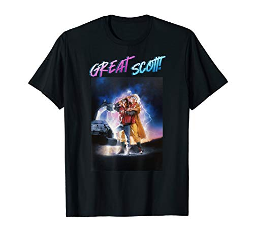 Back To The Future Great Scott T-shirt for Adults and Youth