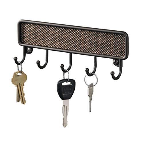 IADZ Sticky Hook,Key Rack Wall Hanging Towel Hook Key Rack Storage Box Retro Kitchen Wall Mounted Bathroom Bronze Wall