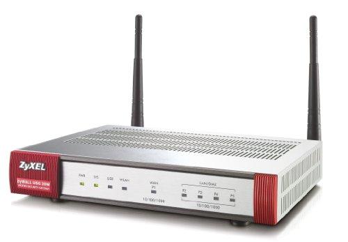 ZyXEL ZyWALL USG 20W USG Firewall, 802.11b/g/n WLAN, 5 IPsec, 1 SSL-VPN-tunnel, 100 Mbit/s Firewall-doorgang