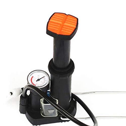 Peanutaoc mini hoge druk luchtpomp fiets band bal vloer voet mountainbike fietsen fiets pomp met drukmeter
