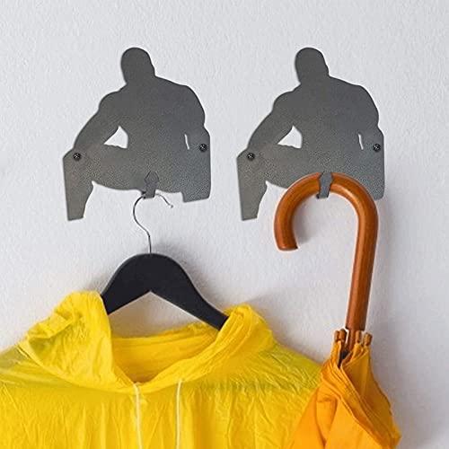 LKOPYUo Soporte de Vino de Metal de Madera Barry, estantes de Mesa de decoración Creativa, Soporte de Botella de Vino Individual Divertido para Adultos, Regalo para Amantes del Vino (Color : B)