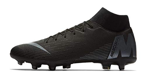 Nike Superfly 6 Academy FG/MG, Zapatillas de Fútbol para Hombre, Negro (Black/Anthracite/Black/Lt Crim 001), 40.5 EU