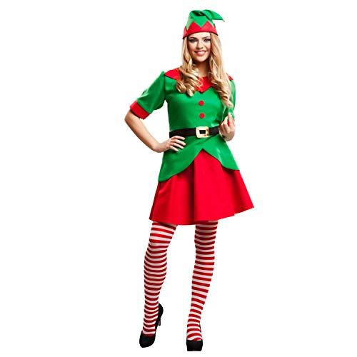 My Other Me Me-203378 Disfraz elfa para mujer, M-L (Viving Costumes 203378)