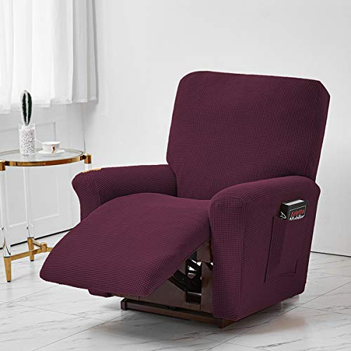 Jacquard Recliner Chair Covers, Stretch Polyester Recliner Chair Furniture...