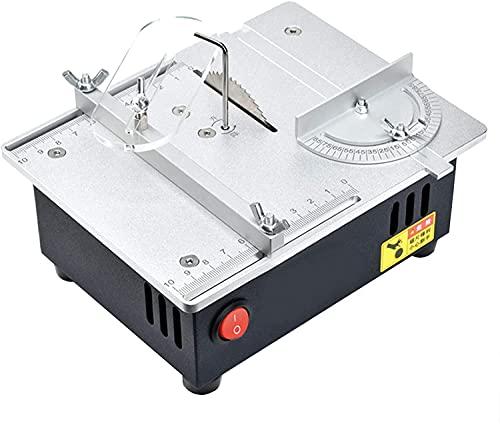 LXNQG Mini sierra eléctrica de mesa, máquina de corte del modelo de...
