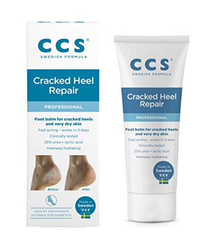 CCS Cracked Heel Repair Balm, 75 g, Softens & Prevents Rough, Dry S